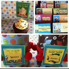 """""""Book Theme"""" baby shower"""