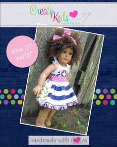 Pockets please!  Polly's Pocket Dress is sure to please any pocket-loving girl!  The show stopping features on this dress are lined pockets and beautiful customized bias straps.  The dress can be made in all woven fabrics, or mix and match knits (as long as the bias is woven).  This dress is perfect for twirling summer fun, or layered to last through many seasons.  The bodice is fully lined without any enclosures.