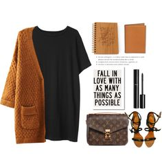 Fall in love ... by gul07 on Polyvore featuring moda, Organic by John Patrick, Givenchy, Louis Vuitton, Hermès and Chanel
