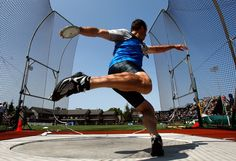 I enjoy throwing the discus in track and field.