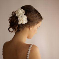 Wedding Hair Piece Vintage Lace Wedding Hair Flower by Florentes, $46.00