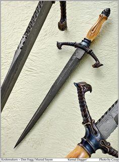 Kemal Dagger Knifemakers ~ Don Fogg / Murad Sayen Photos SharpByCoop Gallery of Handmade Knives