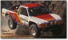 Toyota trophy truck