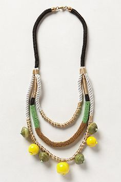 Going to try to see if I can find it in store.  Looks like it would fuss up a casual look in a good way.  Jackfruit Layered Necklace #anthropologie
