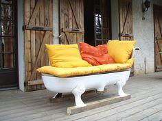 clawfoot bathtub sofa