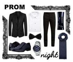 """""""Prom Date"""" by beavoight ❤ liked on Polyvore featuring Stacy Adams, ETON, Gucci, Emporio Armani, Dolce&Gabbana, Yves Saint Laurent, Giorgio Armani, men's fashion and menswear"""