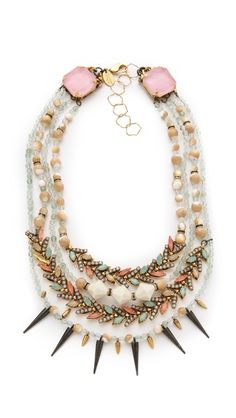 Erickson Beamon Pretty in Punk Layered Necklace