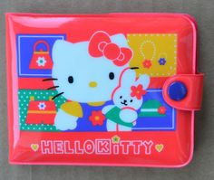 Hello Kitty Puffy Plastic Wallets
