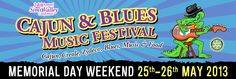 SIMI VALLEY - CAJUN & BLUES MUSIC FESTIVAL - MAY 25TH & 26TH, 2013 :: RBA Publishing-Parent company of Reggae/Blues Festival Guide | MyNewsletterBuilder
