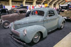 2017 Grand National Roadster Show Willis Overland, Chevy Camaro, Chevelle Ss, Chevy Pickups, Ford Anglia, Old Race Cars, Hot Rod Trucks, Grand National, Unique Cars