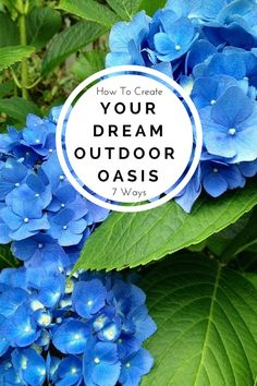 Looking for ways to enhance your backyard garden and patio? Here are 7 ways to create a dreamy outdoor oasis. Get the list : patio umbrellas to plant stands