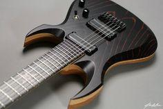 Padalka Guitars' SHURIKEN
