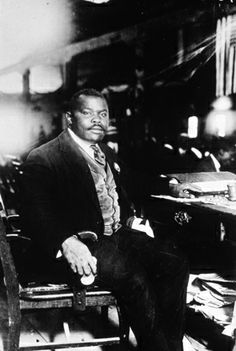 A self-educated social activist, Marcus Garvey left his birthplace of   St. Ann's Bay, Jamaica, to promote Black separatism in America. While  in  the U.S., he founded several black-owned businesses before being   deported back to Jamaica for fraud. From Jamaica he continued to work   for black repatriation to Africa. (Getty Images)~I often wonder what type of woman I'd be had my ancestors followed Garvey~