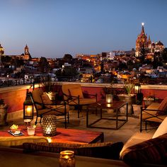 Brides.com: 18 Places to Honeymoon in Mexico. Rosewood San Miguel de Allende. This is a taste of old-world Mexico (cobblestone streets, colorful art shops), away from the beach. The 67 hacienda-style rooms offer beamed ceilings and massive soaking tubs, while the spa offers outrageous mole-and-cocoa body scrubs. From $315; Rosewood San Miguel de Allende
