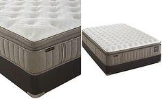 Stearns & Foster Estate Garrick Luxury Cushion Firm Euro Pillowtop King Mattress Set