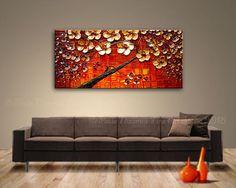 Peinture originale sur toile de Paula Nizamas prêt à accrocher  Lever de soleil réflexions  Il y a plusieurs tailles disponibles. Veuillez utiliser le