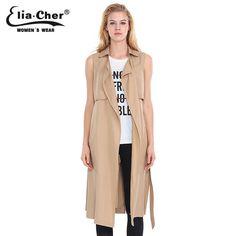 Vest Coats Women Winter Jacket Plus Size Casual Female Clothing Fashion Lady Vest Long Outwear Jacket Coat