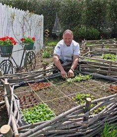 28 überraschend gute Ideen, wie Sie Ihr Gartenbeet einzäunen können. Große Ideenvielfalt für verschiedenste Einfassungen.