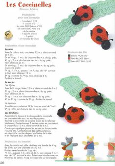 Crochet Amigurumi, Crochet Toys, Ladybug, Crochet Necklace, Crochet Patterns, Mini, Keychains, Appliques, Albums