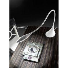 LEDS C4 Grok White Supple LED Table Lamp 10-4415-78-M2