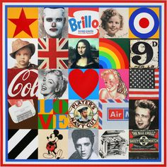 View Sources of Pop Art VII by Peter Blake on artnet. Browse more artworks Peter Blake from Lougher Contemporary. Richard Hamilton, Pop Art, Rise Art, Peter Blake, Pin On, List Of Artists, Royal College Of Art, Silk Screen Printing, Global Art