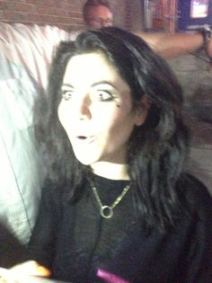 Marina signing in Detroit.  I would like to high five the person who took this picture. I WAAS THERE!!