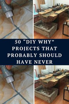 "With the internet chock full of 'Do It Yourself' instructional videos and posts, it looks like everybody and their mothers should be DIY masters. However, some of these handmade projects and hacks should never ever have seen the light of day! And they're making us ask, ""DiWHY would you ever do this?"""