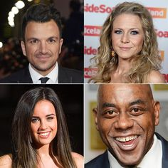 Pin for Later: Meet All the Celebrities Competing in Strictly Come Dancing 2015