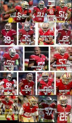 San Francisco 49er defense