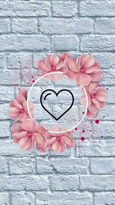 Smile Wallpaper, Cute Wallpaper For Phone, Emoji Wallpaper, Cute Wallpaper Backgrounds, Flower Backgrounds, Cute Wallpapers, Pink Instagram, Instagram Logo, Free Instagram