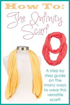 How to wear infinity scarves! by margret