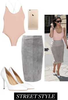 """#kimkardashian #streetstyle"" by linkara1989 on Polyvore"