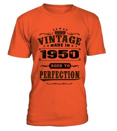 1950 Aged To Perfection  #birthday #november #shirt #gift #ideas #photo #image #gift #military #veteran #army