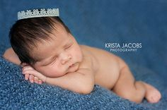 Baby Lace Crown Newborn Photography Photo Prop by hawtbaby on Etsy, $10.00