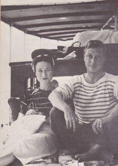 H.R.H. Prince Edward, Duke of Windsor (formally H.M. King Edward VIII) and Wallis, Duchess of Windsor (formally Wallis Simpson.)