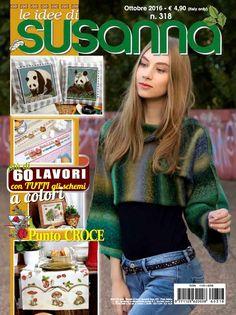 Časopis LE IDEE DI SUSANNA č. 318 na říjen 2016 na www.finery.cz