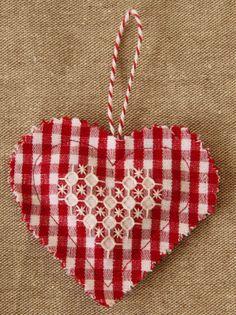 elliefunk: Chicken Scratch Embroidery Valentine