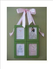 Super simple and cute! (Ikea frames)