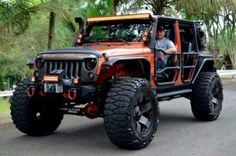 That Jeep growls! I want a similar set of roof and lights for my jeep. Jeep Wrangler The Best Jeep Dealership in New Jersey Jeep Jk, Auto Jeep, Wrangler Jeep, Jeep Wrangler Unlimited, Jeep Cars, Jeep Truck, Jeep Wranglers, Cool Jeeps, Cool Trucks