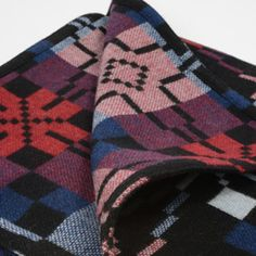 Melin Tregwynt Vintage Star Black Throw | Throws | Soft Furnishings | Home Decor | Heal's