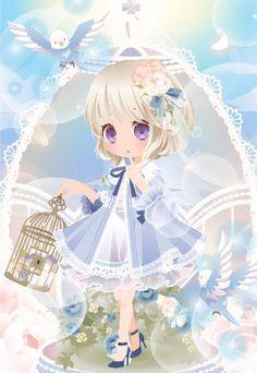 @ trade | スイートチェックキュートアイズ 紫眼 Kawaii Chibi, Kawaii Art, Anime Chibi, Anime Art, Anime Fantasy, Dark Fantasy, Chibi Characters, Cocoppa Play, Kawaii Wallpaper