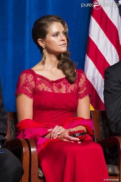 MYROYALS  FASHİON: Princess Madeleine Attends a Gala Dinner in Wilmington for the 375th anniversary of the establishment of New Sweden