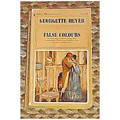 False Colours by Georgette Heyer 1969 (Paperback)  http://postteenageliving.com/amazon.php?p=B006W9AP4O