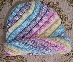 Ravelry: Spiral Knit Hat pattern by Viola M. Soffe