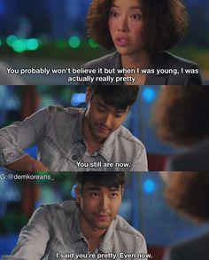 "Enserio, enserio me enamoré del personaje de Siwon en ""She was pretty"""