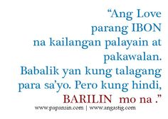 Tagalog Love Quotes – Relasyon Problem Quotes Bisaya Quotes, Patama Quotes, Book Quotes, Filipino Quotes, Tagalog Love Quotes, Relationship Trust Quotes, Quotes About Love And Relationships, Think Happy Thoughts, Funny Thoughts