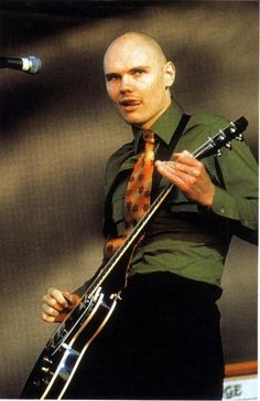 Billy Corgan...lead singer of my favorite band of all time, The Smashing Pumpkins