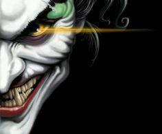Half joker face