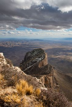 El Capitan from Guadalupe Peak, Guadalupe Mountains National Park, Texas