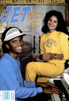 Michael and LaToya Jackson. Michael Jackson ~You Can Do It 2. www.zazzle.com/Posters?rf=238594074174686702